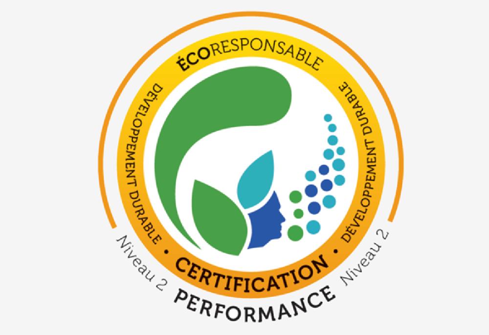 Certification écoresponsable